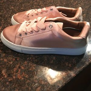 Rose Pink Sneaks! Brand New, Never Worn.